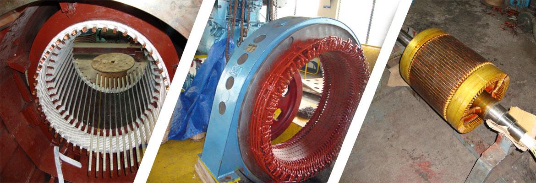 Electrical Motor Rewinding in Madurai, Kirloskar, Siemens Authorised Service Centre in Madurai, Tamilnadu, India